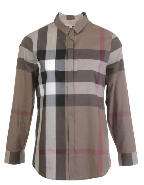 shirt brown taupe top