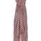 Striped cotton bow front jumpsuit | moda operandi