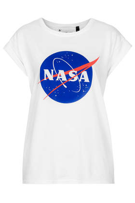 Nasa Badge Print Tee by Tee and Cake - Tops - Clothing - Topshop