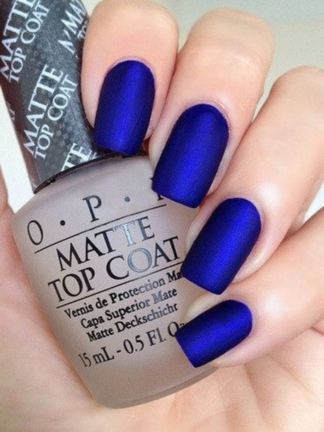 nail accessories nail polish top coat matte nail polish opi blue nails metallic nails electric blue electric blue nails nails opi blue matte