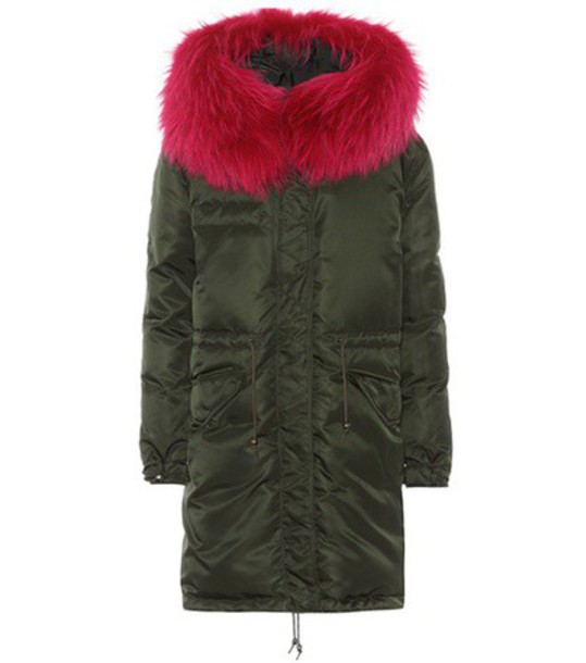 Mr & Mrs Italy coat fur green