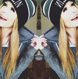 hat acacia brinley beanie black jacket sweater