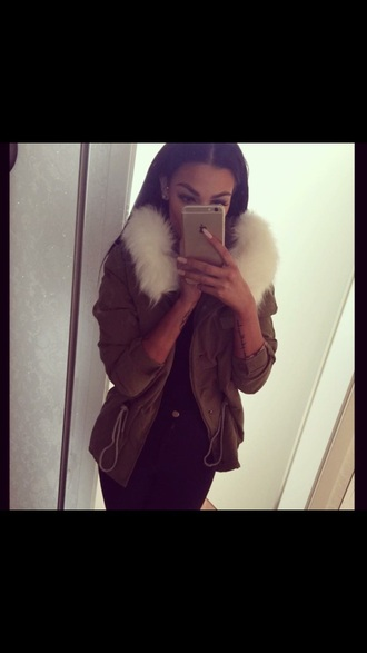 jacket girly tumblr fashion winter jacket winter outfits fall outfits light brown jacket