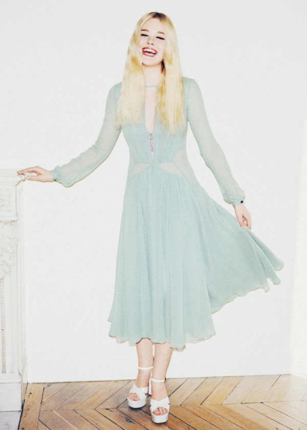 dress elle fanning