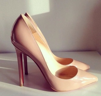 shoes nude