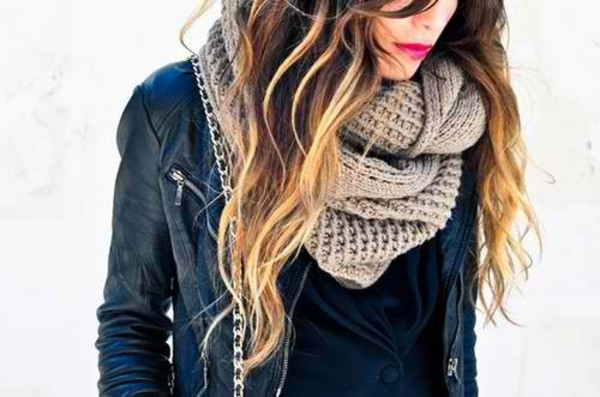 scarf clothes fashion jacket