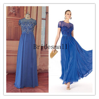 dress blue bridesmaid dresses chiffon blue bridesmaid dresses short sleeve party dresses short sleeves evening dresses modest bridesmaid dresses on sale prom dresses short sleeve prom dress modest prom dresses with sleeves affordable prom dress blue evening dresses blue prom dress blue party dresses elgenant dresses elegant bridesmaid formal dress dress for women dress for prom