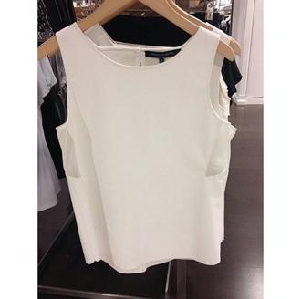 top stylish classy white top