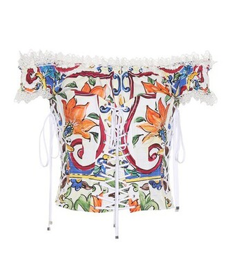 top corset top cotton