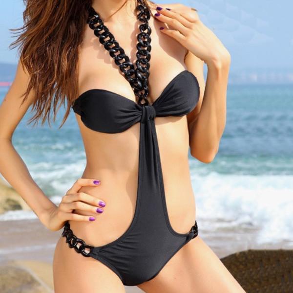 swimwear swimwear bikini chain