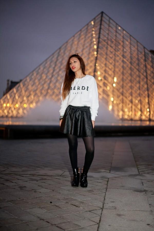 rosa pel's blog skirt shoes coat