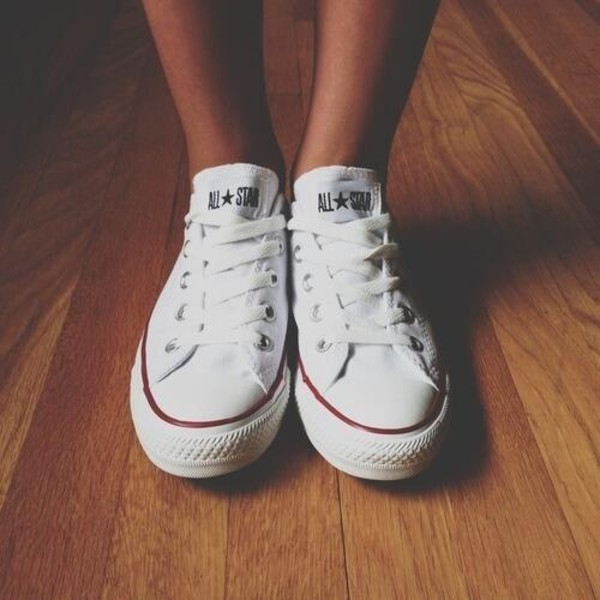 shoes converse white sneakers