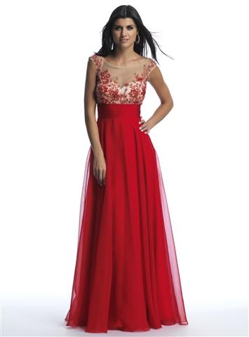 Dave & Johnny 9605 | 2014 Prom Dresses | Homecoming Dresses | Dave & Johnny | Prom Dresses | Cocktail Dresses | GownGarden.com
