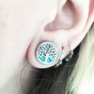 jewels shop dixi plug body chain boho bohemain bohemian grunge goth hippie tree abalone