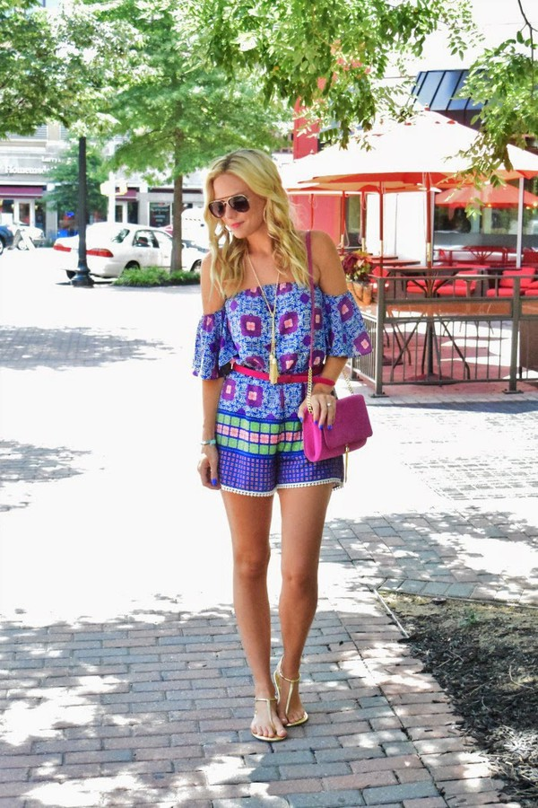 b soup romper jewels sunglasses shoes