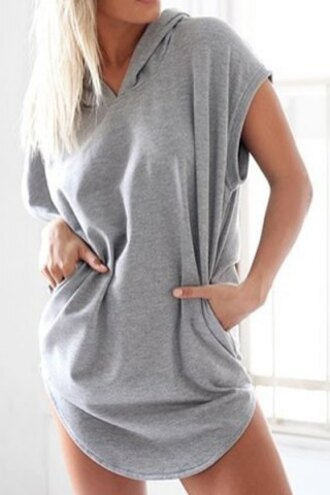 romper grey rose wholesale casual urban oversized sweater cool summer
