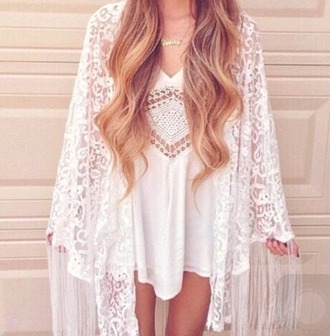 blouse dress hippie indie classy blonde hair fringes