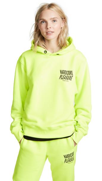hoodie neon sweater