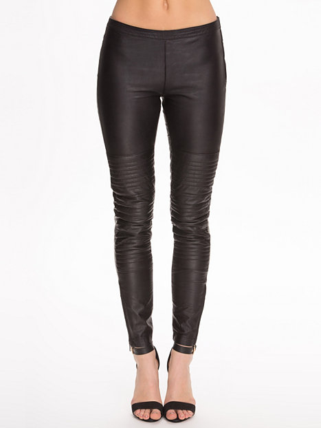 Rocket leather pants, selected femme