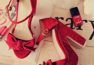 shoes heels high heels red retro bows red heels bow perfect beautiful aquazzura sandals aquazzura red sandals sandals high heel sandals red suede sandals red high heel sandals nail polish