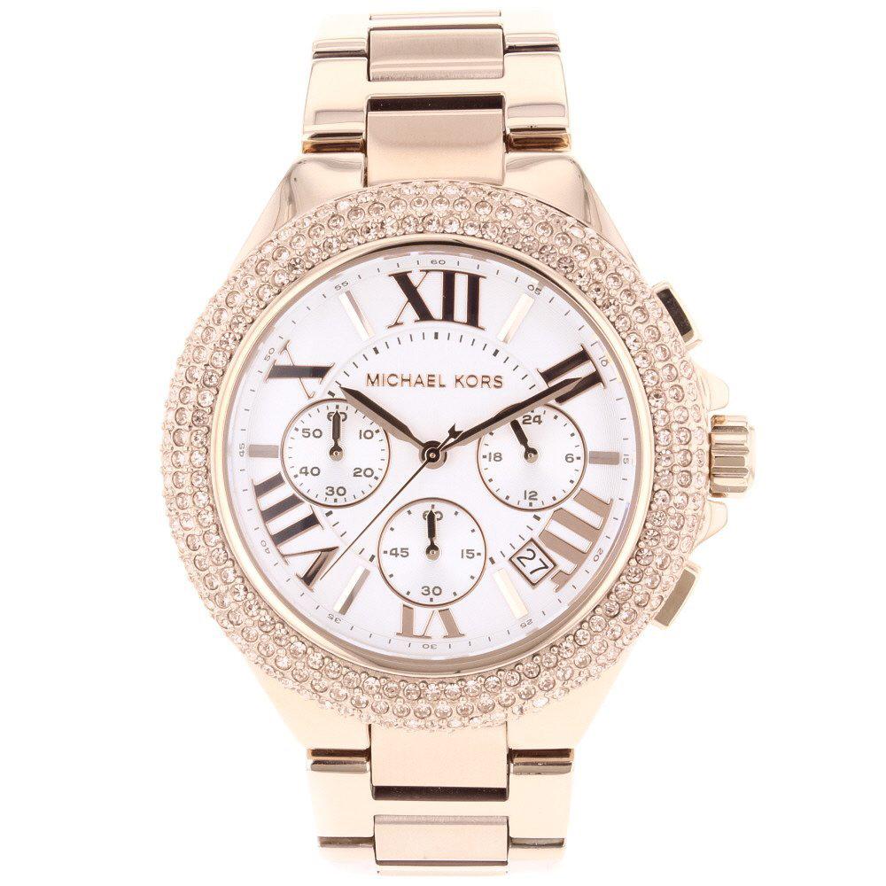 Ritz Rose Gold Tone Watch | Michael Kors
