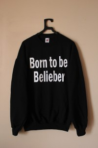 Bluza BORN TO BE BELIEBER JUSTIN BIEBER beliebers SHOCK share&block