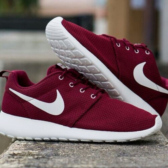 san francisco b8ac8 1a752 Nike - ISO ISO maroon burgundy peach mint nike roshe run from Cierra s  closet on Poshmark