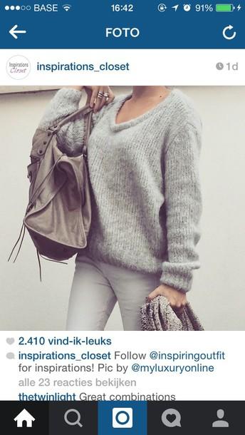 cardigan grey fuzzy sweater