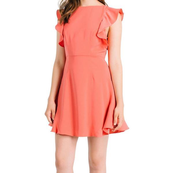 Flutter Sleeve Dress by Kendall   Kylie