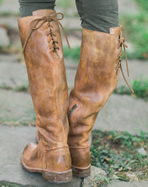 shoes lace up boots