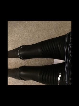 pants zip zipped pants