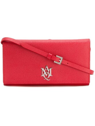 women pouch red bag