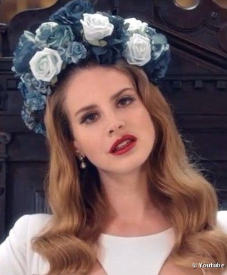 hat flowers flower crown lana del rey floral hair accessory hair