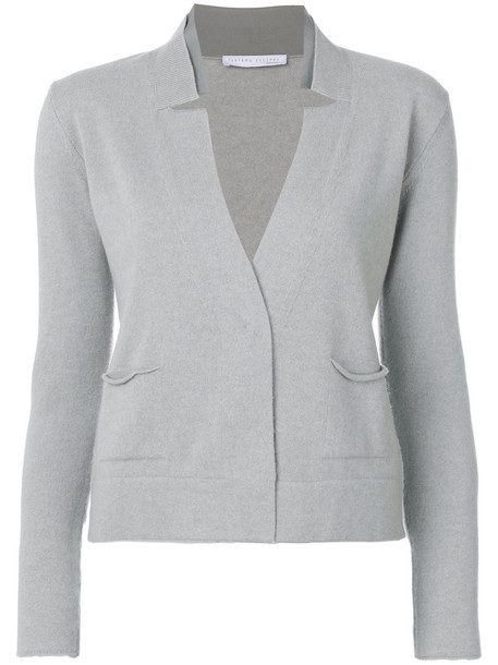 Fabiana Filippi cardigan cardigan women silk grey sweater