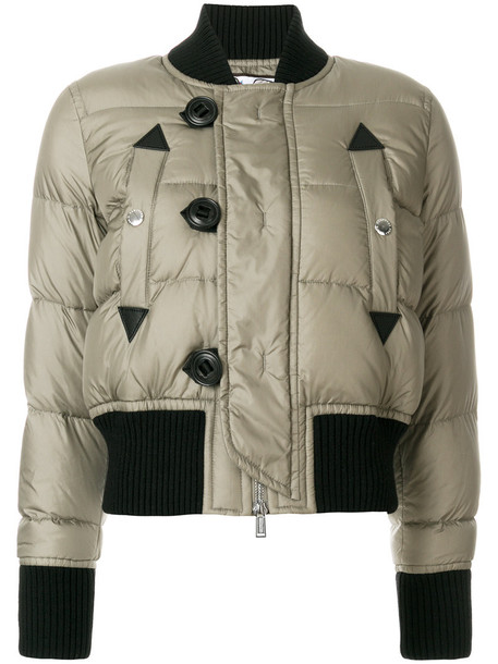 jacket bomber jacket women wool green