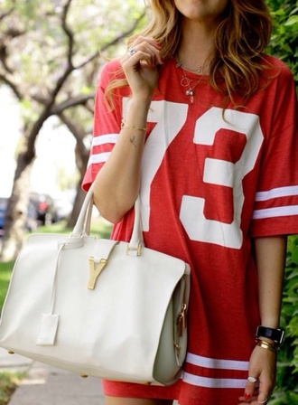 dress red varsity