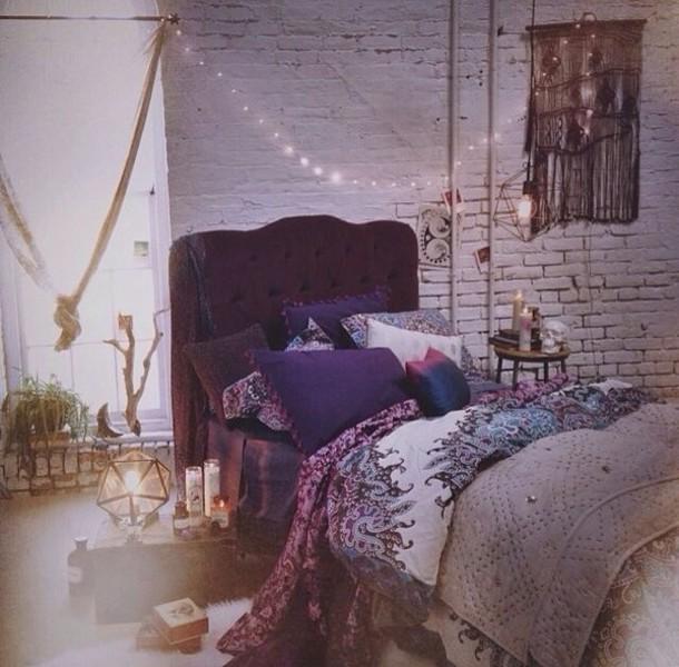 Bag Bedding Bedding Paisley Boho Home Accessory Bedroom
