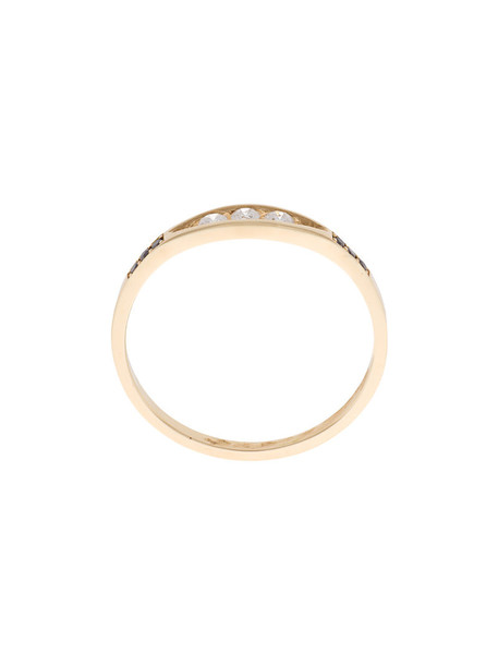 Jennie Kwon women ring gold black grey metallic jewels