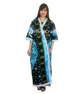 dress,kimono,mandala kimono,mandala kimono robe,beachwear,indian cotton bath robe