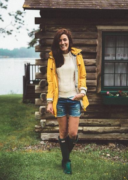 get online size 40 run shoes jacket, raincoat, parka, yellow, yellow coat, hunter boots ...