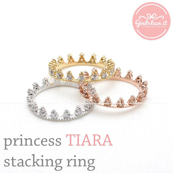 jewels jewelry ring tiara tiara ring stacking ring crown ring wedding ring prom