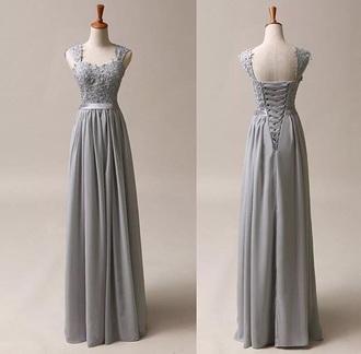 dress grey dress prom prom dress prom gown grey prom dress corset corset dress long dress dark grey long dress lace dress grey lace