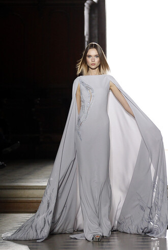 gown prom dress long prom dress long dress fashion week 2016 runway haute couture