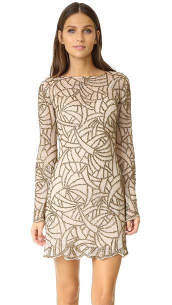 Haute Hippie Goldfinger Dress - Buff Multi