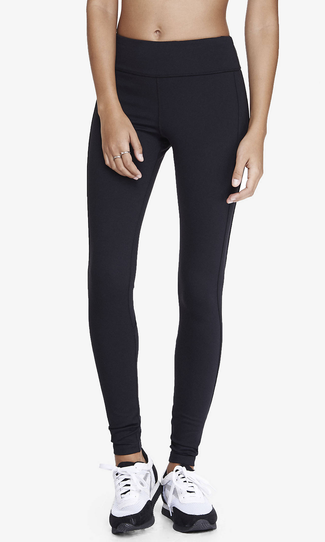 Exp core compression piped legging from express
