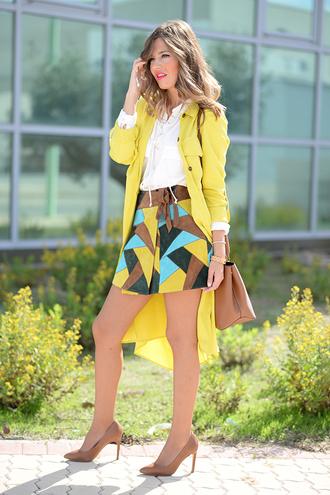 mi aventura con la moda blogger skirt lime