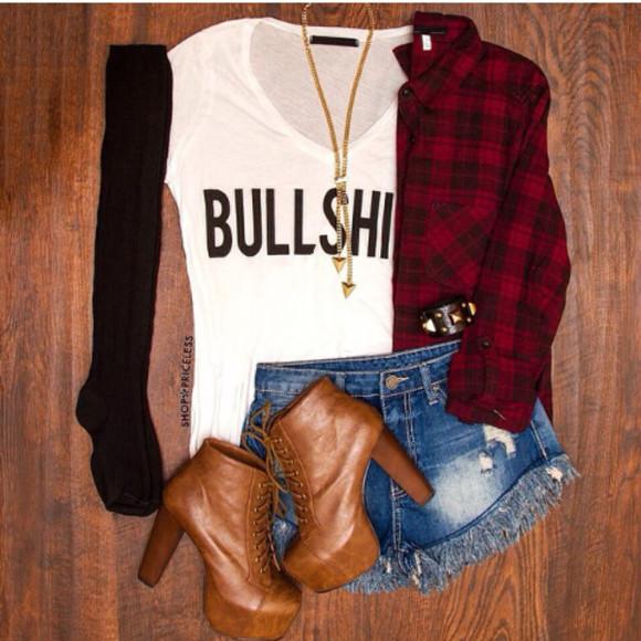 t-shirt bullshit