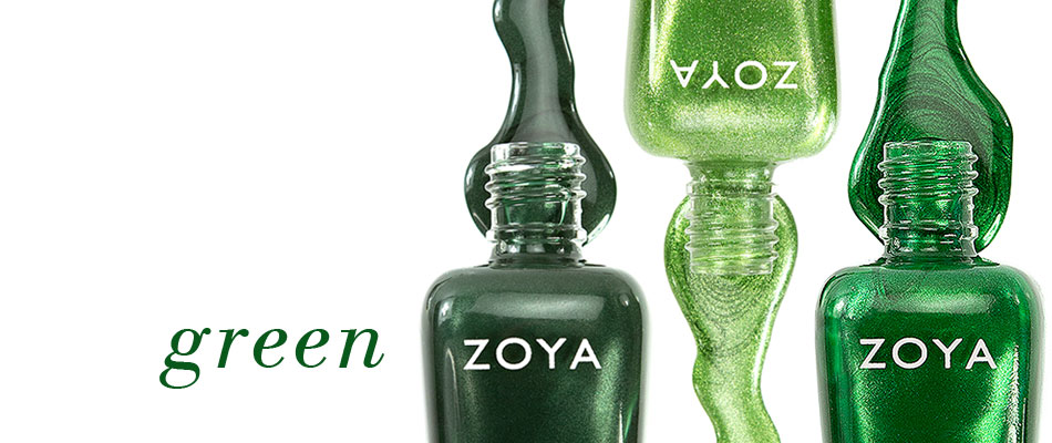 Green Nail Polish by Zoya