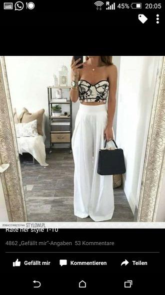pants high waisted elegant