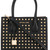 Michael Michael Kors - studded mini tote - women - Calf Leather - One Size, Black, Calf Leather